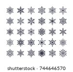 Cute Snowflakes Collection...