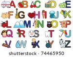 a vector illustration of a set... | Shutterstock .eps vector #74465950