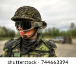 Soldier  Airsoft Player In...