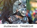 los angeles  usa   october 28 ...   Shutterstock . vector #744680149