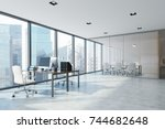 White Open Space Office...