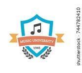 college  university  school and ... | Shutterstock .eps vector #744782410