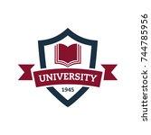 university and college school...   Shutterstock .eps vector #744785956