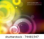 abstract background design   Shutterstock .eps vector #74481547