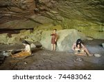native american representations in Russell Cave National Monument