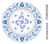 Decorative Porcelain Plate...