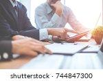 business  | Shutterstock . vector #744847300