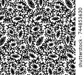 abstract  background  vector... | Shutterstock .eps vector #744853630