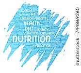 conceptual nutrition health...   Shutterstock . vector #744869260