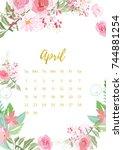 Vintage Floral Calendar 2018...