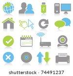 internet icons | Shutterstock .eps vector #74491237