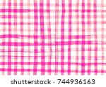 Gingham Fabric Background....