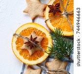 Christmas Decoration. Twig...