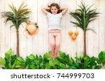 Little Girl Summer Vacation...