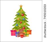 Vector Flat Christmas Holiday...