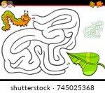 cartoon illustration of... | Shutterstock . vector #745025368