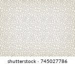 seamless pattern. abstract... | Shutterstock .eps vector #745027786