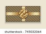 vector modern christmas or 2018 ...   Shutterstock .eps vector #745032064