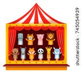 Puppet Show Theatre. Kid...