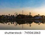 belo horizonte  minas gerais ... | Shutterstock . vector #745061863