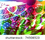 abstract background | Shutterstock .eps vector #74508523