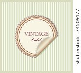 Vector Vintage Pattern For...