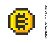 pixel bitcoin cripto currency...