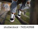 milan  italy   september 28 ... | Shutterstock . vector #745143988