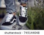 milan  italy   september 28 ... | Shutterstock . vector #745144048