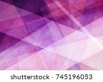 abstract background with pink... | Shutterstock . vector #745196053