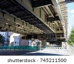 junction in japan    Shutterstock . vector #745211500