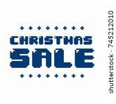 ultimate christmas banner... | Shutterstock .eps vector #745212010