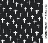 Cross Symbols Seamless Pattern...