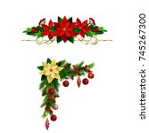 christmas elements for your... | Shutterstock .eps vector #745267300