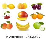 group with different sorts of...   Shutterstock .eps vector #74526979