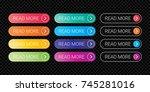 read more web button flat... | Shutterstock .eps vector #745281016