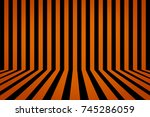 pattern line background... | Shutterstock . vector #745286059