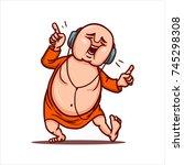 cartoon vector illustration....   Shutterstock .eps vector #745298308