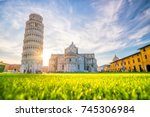 pisa cathedral and the leaning...