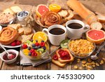 breakfast | Shutterstock . vector #745330900