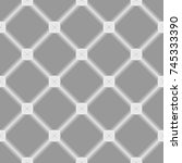 seamless pattern with square... | Shutterstock .eps vector #745333390