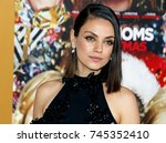 mila kunis at the los angeles... | Shutterstock . vector #745352410