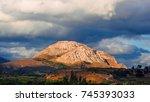 scenic countryside | Shutterstock . vector #745393033