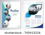 template vector design for... | Shutterstock .eps vector #745413226