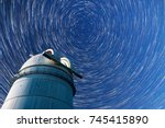 astronomical observatory under...