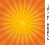 Vector Background Rays