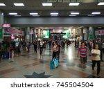 kuala lumpur  malaysia  28... | Shutterstock . vector #745504504
