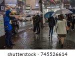 tokyo  japan   october 28th ... | Shutterstock . vector #745526614