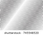 minimal grey scale a4 cover... | Shutterstock .eps vector #745548520