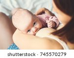 Baby Eating Mother\'s Milk....